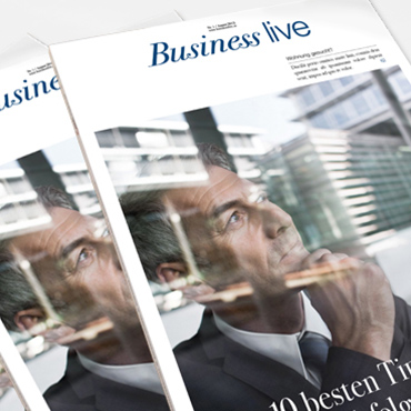 Editorial Design / Business-Magazin